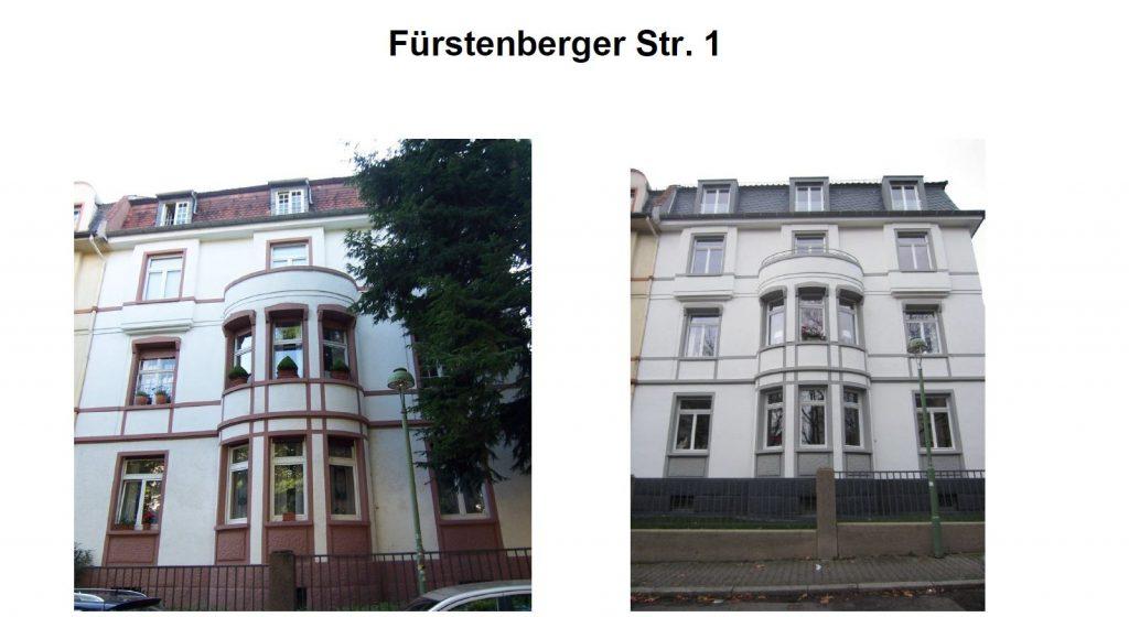 Fürstenberger Str. 1